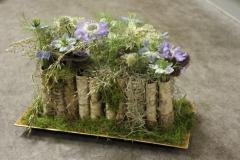 květinové dekorace interiérů dekorace a výzdoba restaurací ...